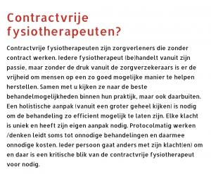 contractvrij